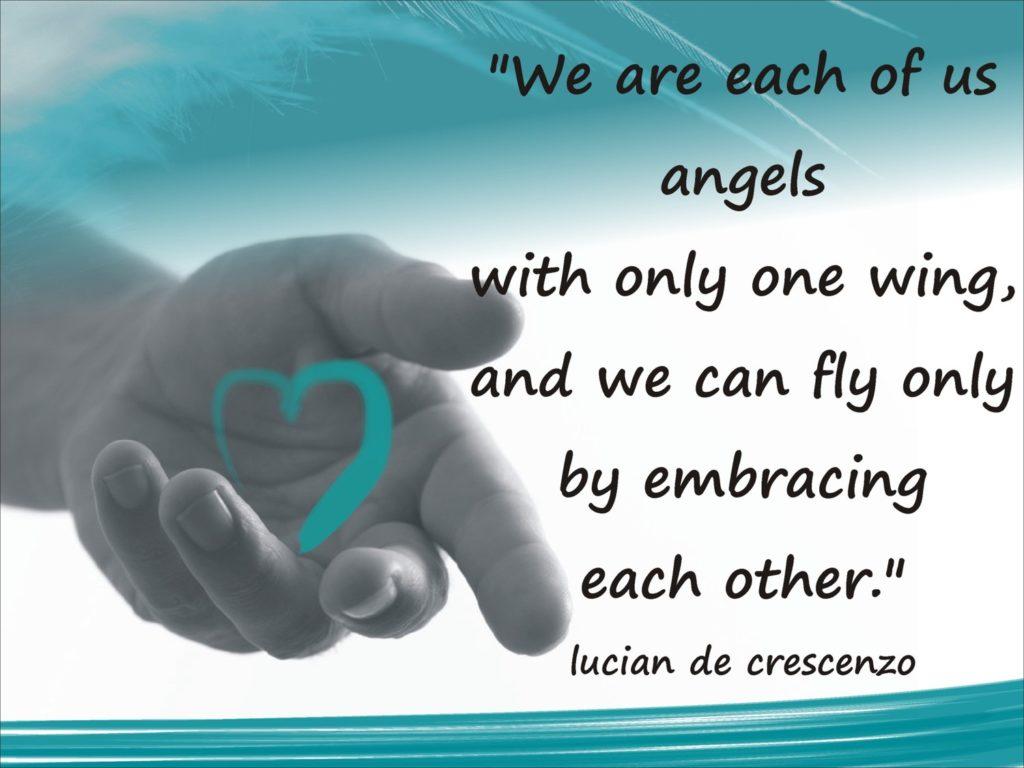 Angels hand photo